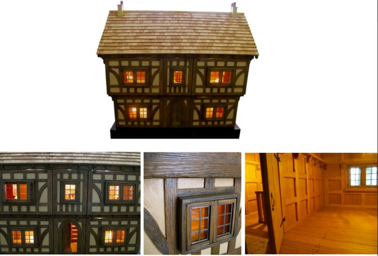 (Full dollhouse description on my Etsy shop).