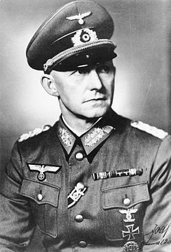SEP 7 1942 Hitler falls out with his High Command Generaloberst Alfred Jodl, Chief of Operation Staff OKW