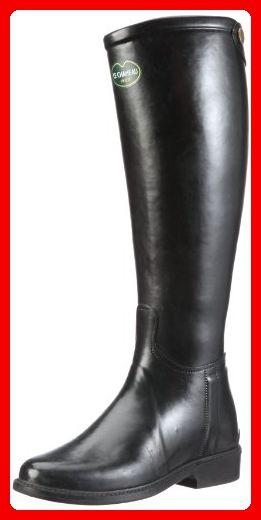 Le Chameau Cavalière BCB1823, Damen Gummistiefel, Schwarz (Noir), EU 38 - Stiefel für frauen (*Partner-Link)