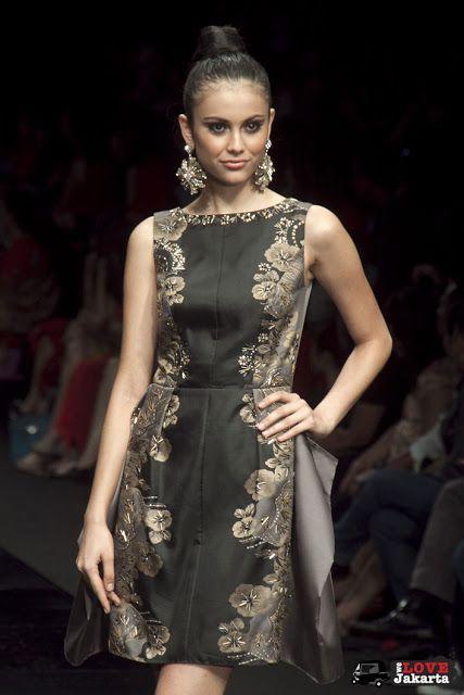 Batik Dress by Sebastian Gunawan