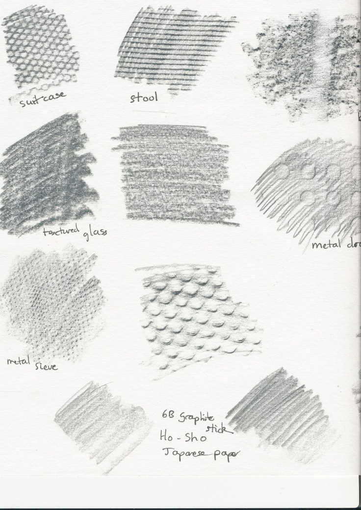14 best images about Frottage (Rubbings) Texture Projects on ...