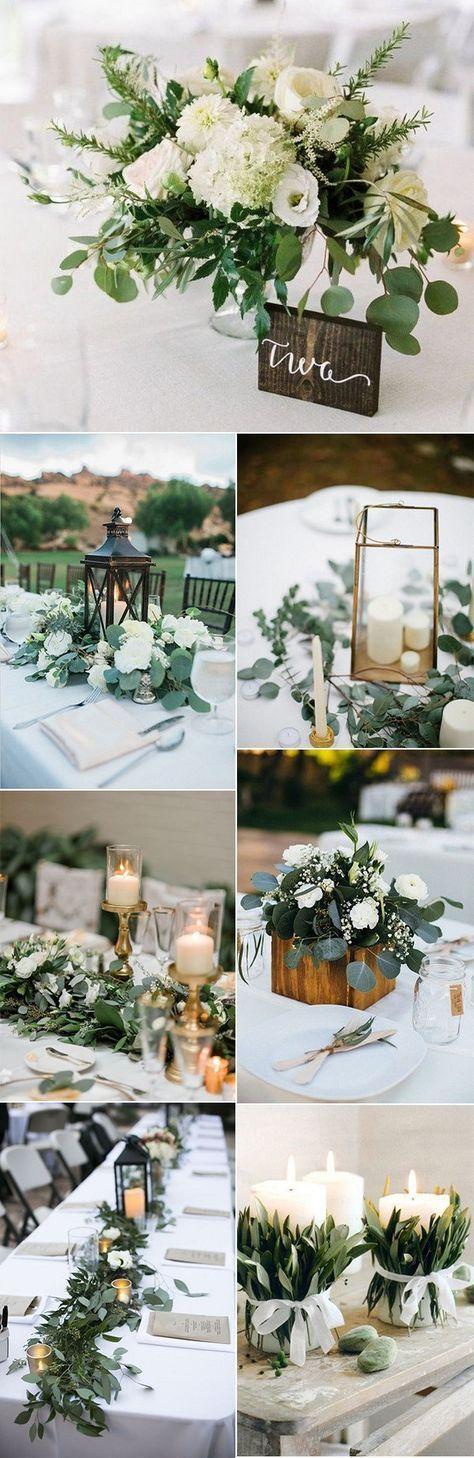 Trending weiß und grün schicke Hochzeit Herzstü…