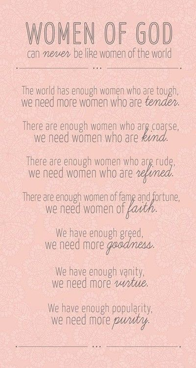 Purity Verses for Girls | I love this.. something we all need to love by