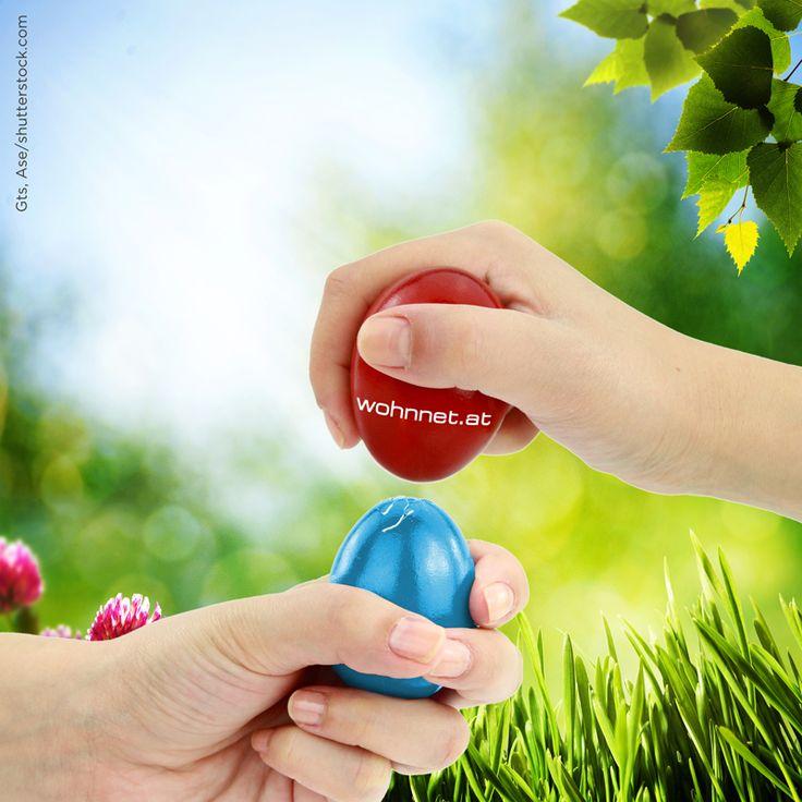 Wir haben definitiv die härteren Eier!  Das #wohnnet Team wünscht Dir frohe #Ostern und erholsame Feiertage!