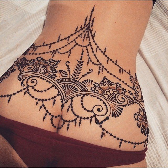 hennatattoo by @ginkas_arts Posted by @WazLottus