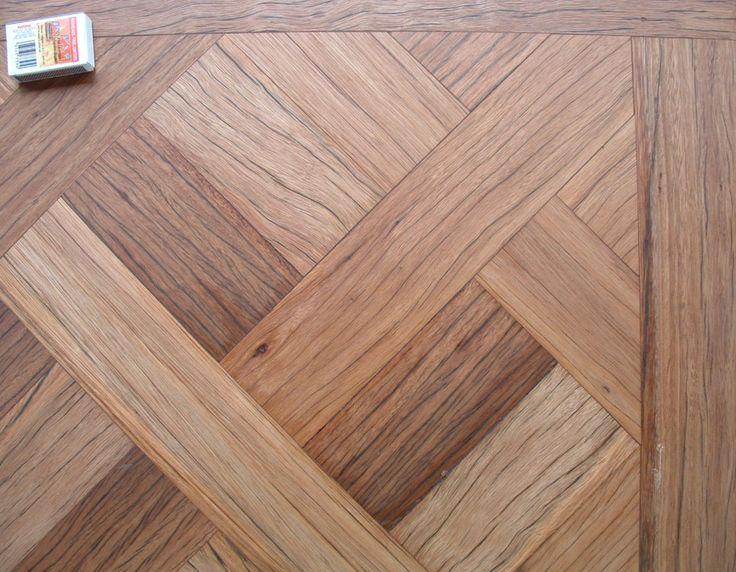 Aged Blackbutt parquetry flooring #timberflooring