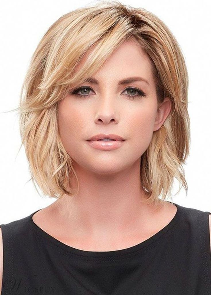 22 Perfect Medium Length Hairstyles for Thin Hair in 2019 in 2020 | Choppy bob hairstyles, Thick ...