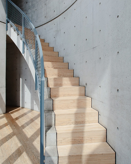 Vitra Conference Pavillion at Weil am Rhein, Germany. Designed by japanese architect Tadao Ando. 1993.