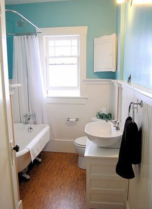 Photo Album For Website This traditional bathroom remodel gives the illusion of much more space with great simple choices