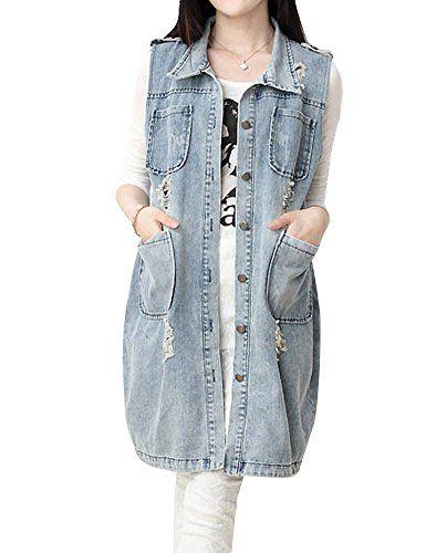 17 Best ideas about Sleeveless Jacket on Pinterest | Long vest ...