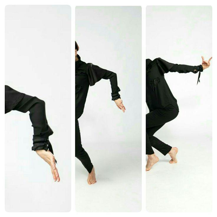 Design/ Shirt LINA .Photo/ Ankie Janssen. Edit/ LINA. Model/Dancer Inma Pavon.