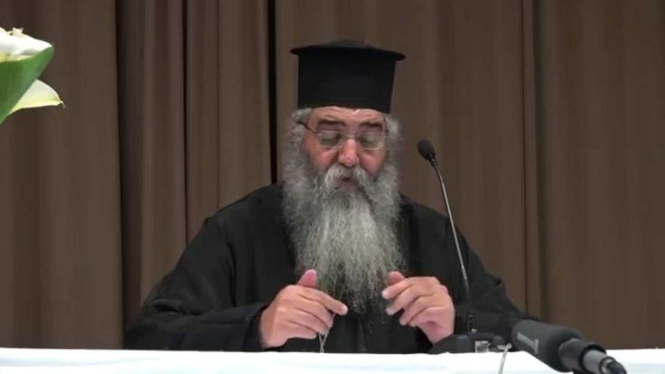 Άγιος Παΐσιος Αγιορείτης - Ομιλία Μητροπολίτου Μόρφου Νεοφύτου