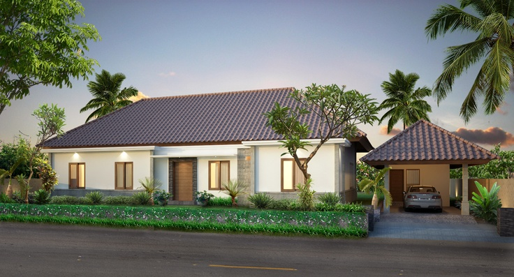 Moderne luxe villa.