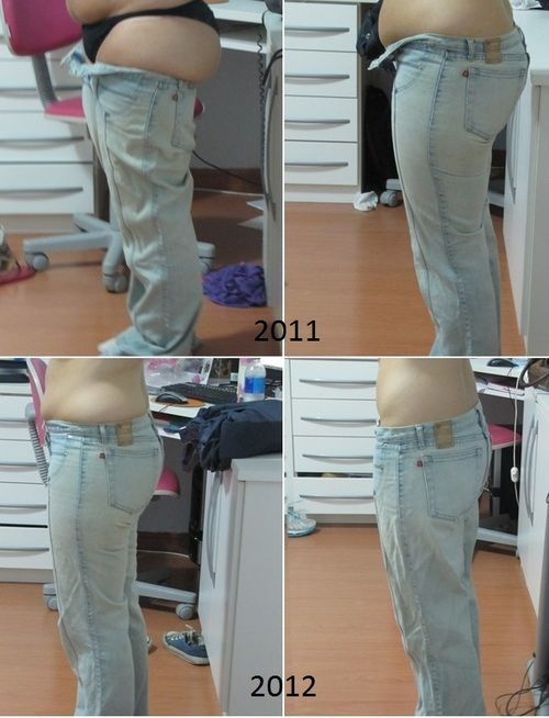 before and after weight loss pic:  Before: 76kgs After: 55kgs :D