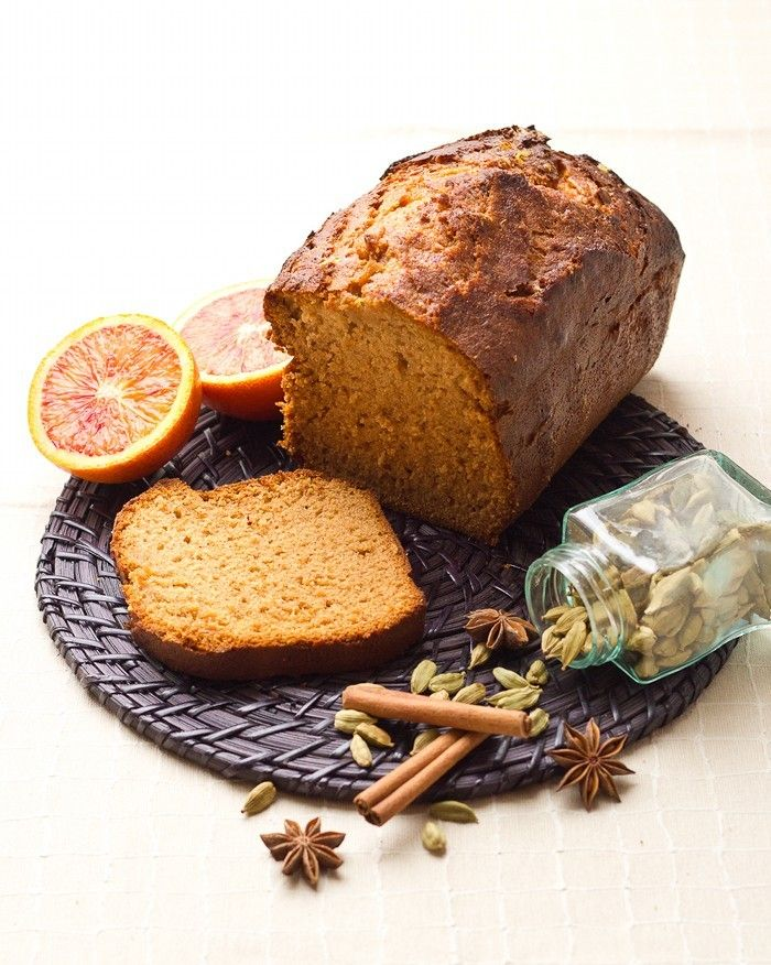 Orange Gingerbread - Soft and fragrant! - Cuisine Addict - English version! Also the pin has recipe in French version! Aline ♥