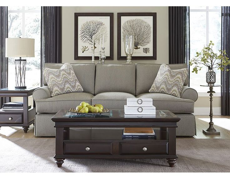 Formal Living Room Option Havertys Sofa With The Matching Chaise For Th