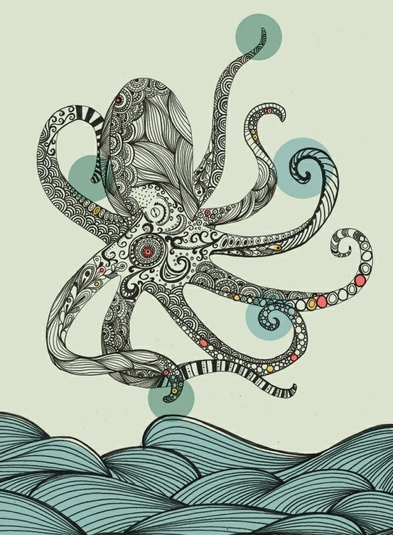 8 best images about octopus on pinterest gardens octopus drawing and simple art. Black Bedroom Furniture Sets. Home Design Ideas