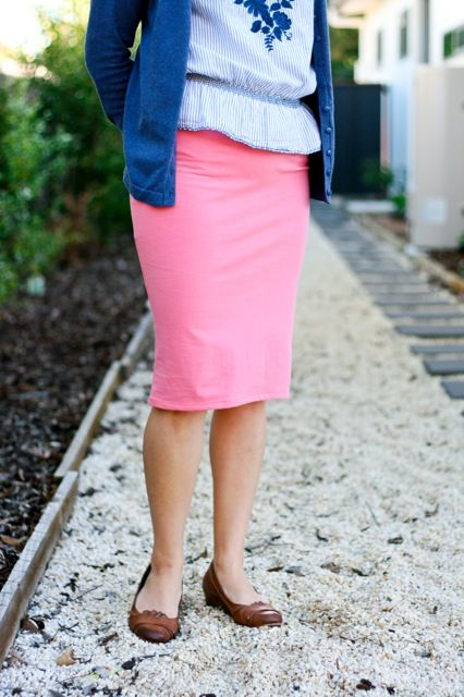 30-Minute Skirt - a FREE #sewing pattern!