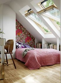 Converted Loft Bedroom- Velux Windows