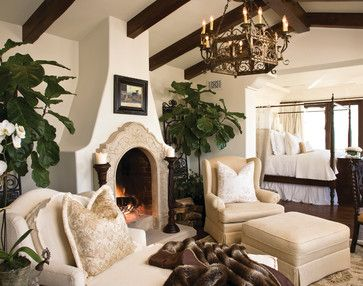 Custom Residential Coastal - mediterranean - living room - san diego - Marengo Morton Architects