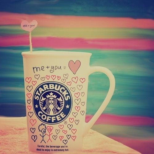 Starbucks = ♥