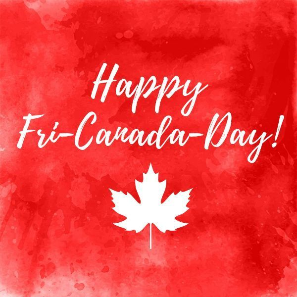 Happy Fri-Canada-Day!! This Friday is a very special one- it marks the start of our #Canada150 long weekendWhat are your plans for celebrating Canada's milestone birthday? Whether you're traveling relaxing at home or spending the long weekend with family and friends we wish you an amazing long weekend! #CanadaDay #longweekend #frinally #friyay #tgif #milestonebirthday #momresourceCA #momblog #dadblog #Canadianparents #parenting