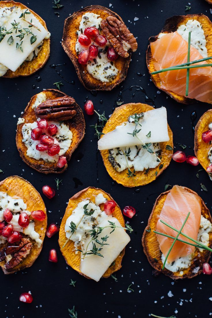 This recipe for sweet potato crostini is the perfect low-carb holiday appetizer idea.