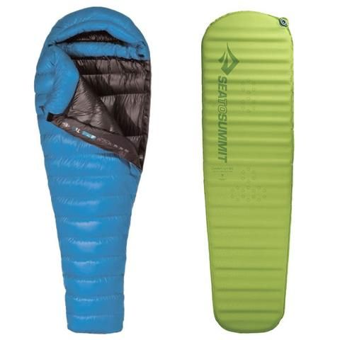 Sea to Summit Talus TS1 -5 °C Ultra Light Down Sleeping Bag + Self Inflating Mat Package!