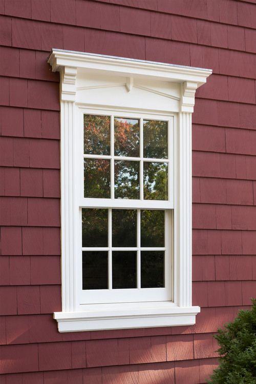 Alternative to Shutters - exterior window trim