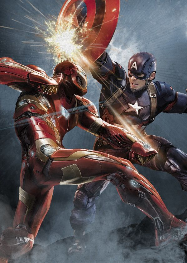 Official Marvel Avengers Civil War Divided We Fall Captain