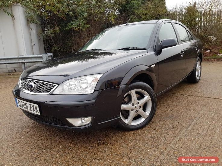 Ford Mondeo 2.0 TDCi SIV Edge 5dr 2006 Black Spares or Repairs Starts and Drives #ford #mondeo #forsale #unitedkingdom