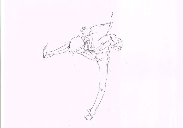 sebagian potongan adegan key dalam projek animasi