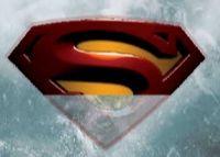 Superman dans les glaciers