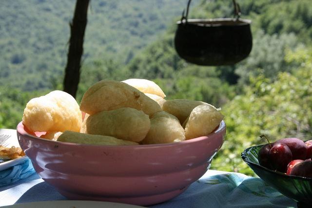 Doughballs in dappled sun | Lake Skadar, Montenegro