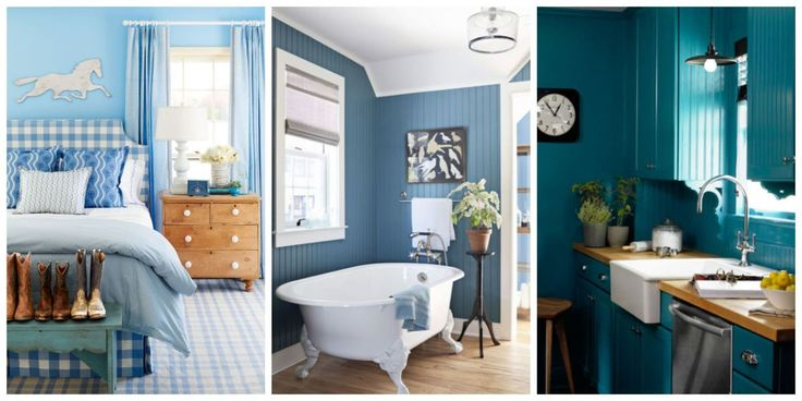 25 Reasons Why Blue Is the Best Color for Your Home | HOME- the Bedroom | Pinterest | Home Decor, Home and Decor