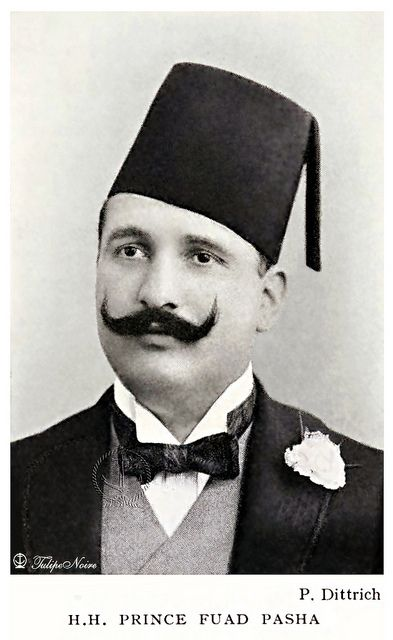 H.H. Prince Ahmed Fouad I (1868-1936), Son of Kedive Ismail - Cairo In 1906.