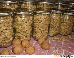 Zavařování ořechových jader