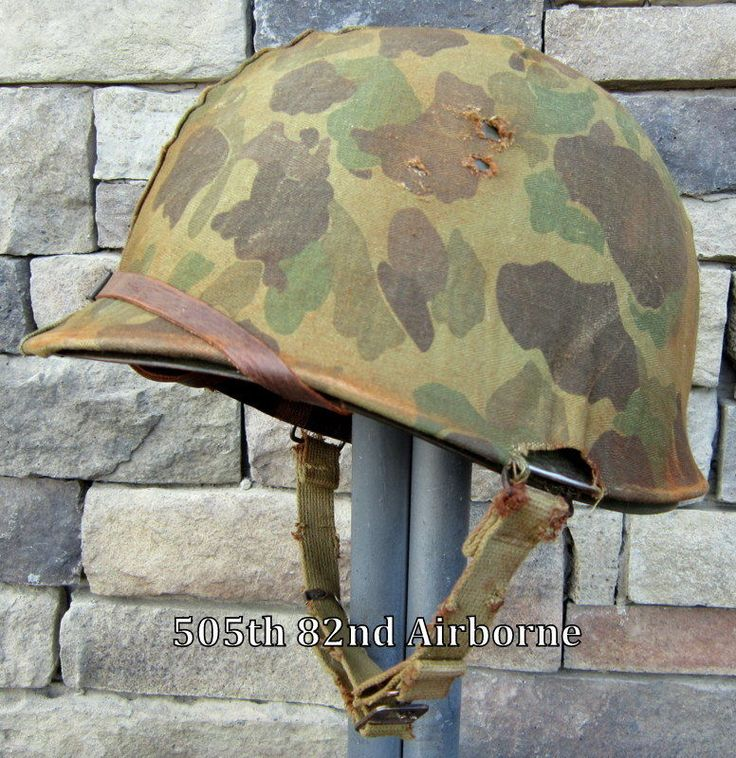 WWII USMC M1 Helmet & Westinghouse Liner Front Seam Cover