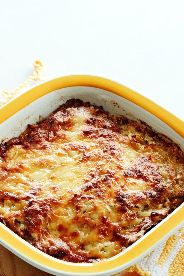 Cabbage Casserole.  It's fantastic!