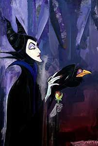 Sleeping Beauty - Maleficent - Jim Salvati - World-Wide-Art.com - $595.00 #Disney #JimSalvati