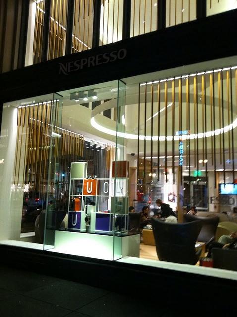 Nespresso Boutique, SF by bubbletea1, via Flickr