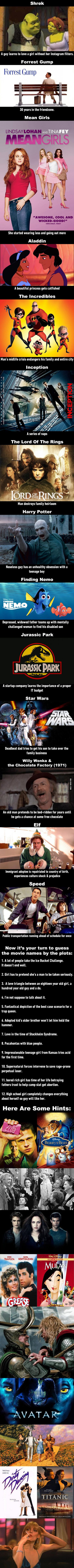 26 Movie Plots Explained Badly, But Better