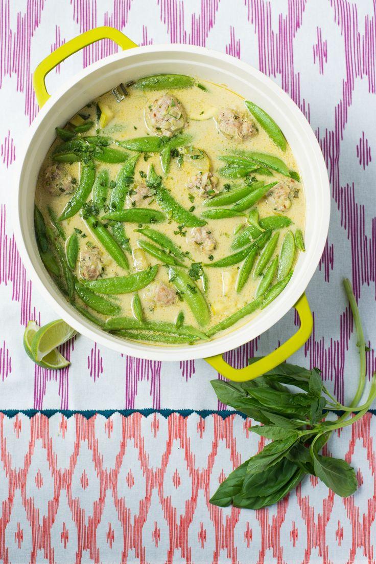 Recipe: Nigella Lawson's Thai Turkey Meatballs — Cooking Fresh from the Can