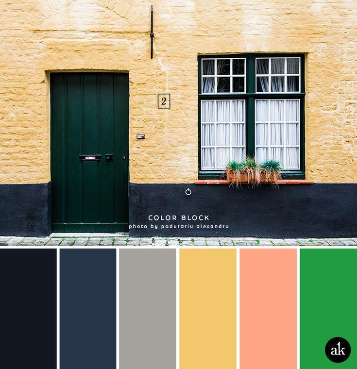 a city-home-inspired color palette (Akula Kreative)