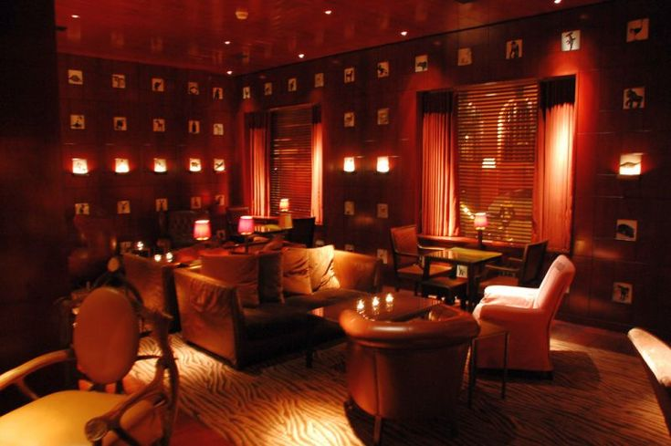 Clift Hotel San Francisco Red Room
