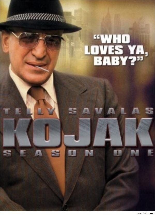Telly Savalas couldn't smoke while filming Kojak and that's why he always had a lollipop in his mouth. Prev pinner ...great show