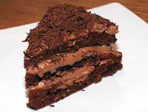 Chocolate Cake, Sugar-Free, Gluten-Free, Low-Carb - wonderful easy cake with almond flour and  chocolate cream cheese icing - 8 servings at 4g net carbs per serving (cake and icing uses cocoa powder