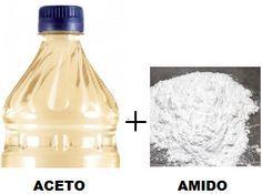 Crema di pulizia fai da te all'aceto e amido: 9 usi per pulizie, sgrassare e…