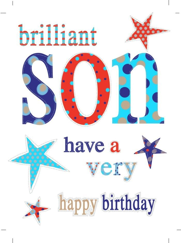 Jeannine Rundle - AD765B SON HAPPY BIRTHDAY STARS.psd