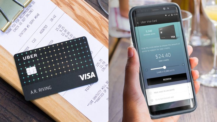 Learn about the Uber credit card